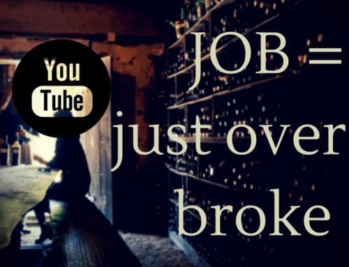 """JOB = """"just over broke"""""""